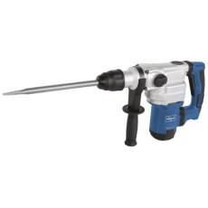SDS MAX ROTARY + DEMOLITION HAMMER c/w 2 x CHISELS