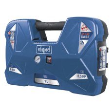 2 L PORTABLE COMPRESSOR + 12 PCE AIR TOOL KIT, 1.5 HP
