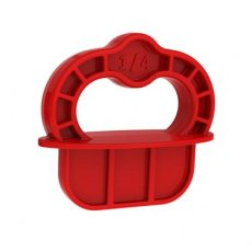 Kreg Deck Jig?  Spacer Rings - Red - 1/4'