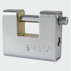 Veto Armoured Brass Padlock