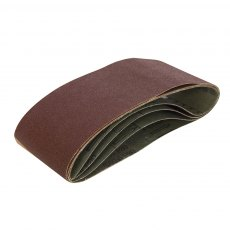Sanding Belt 75 x 533mm 5pk 100 Grit