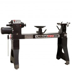 "Laguna Floorstanding Variable Speed Lathe 18"" x 36"" Revo 18/36 2HP 220 Volt"