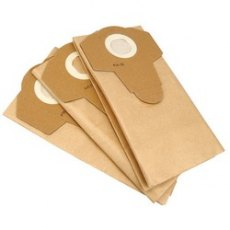 Paper Dust Bags (3) For Draper 20L Wet and Dry Vacuum Cleaner with Stainless Steel Tank (1250W)