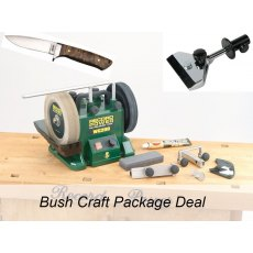 Limited Edition Record Power WG200 Wet Stone BUSHCRAFT Package Deal!