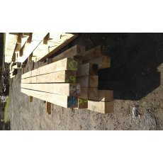 Fresh Sawn Oak Posts 150x150 Beams 2.4m pack deal. Buy 10 and save