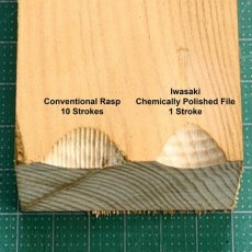 Iwasaki Chemical Polished Bent Carvers Files