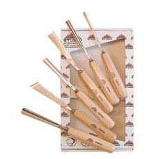 Stubai 6 Piece 55 Series Premium Carving Set
