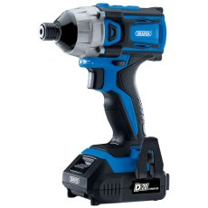 "D20 20V Brushless 1/4"" Impact Driver with 2 x 2Ah Batteries and Charger (180Nm)"