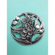 Thistle Pewter Lid