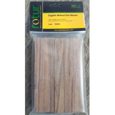 Pen Blanks - English Walnut (5 pack)