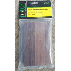 Pen Blanks - Indian Rosewood (5 pack)