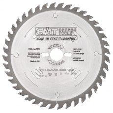 CMT Finishing Crosscut Saw Blade 250X3.2X35 Z60 15Atb