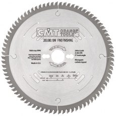 CMT Fine Finishing Saw Blade 250X3.2X35 Z80 15Atb