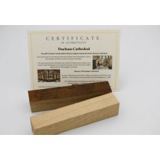 Harry Potter Wooden Pen Blank from Gloucester Cathedral