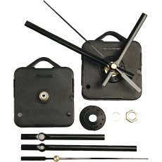 Clockwork Movement Mechanics, black, 1set