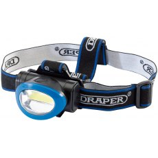 COB LED Head Lamp (3W) (3 x AAA batteries)