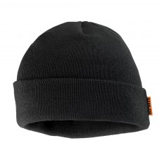 Scuffs Knitted Thinsulate Beanie Black