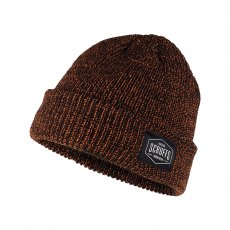 Scruffs Vintage Beanie Hat Orange/Black One Size