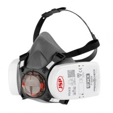 JSP Force 8 Half Mask Respirator Complete with Press To Check P3 (F-4003) Filters