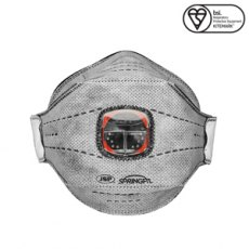 JSP SpringFit Disposable Dust Mask FFP3 with Typhoon Valve