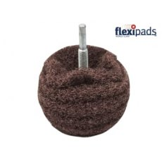 Flexipad Scruff Ball 75mm / 3in Brown Coarse