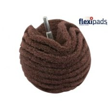 Flexipad Scruff Ball 75mm / 3in Maroon Very Fine