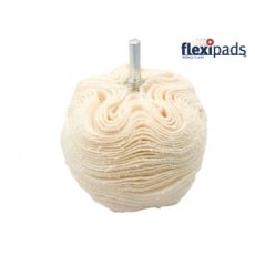 Flexipad Scruff Ball 75mm / 3in Cotton Gloss Finish