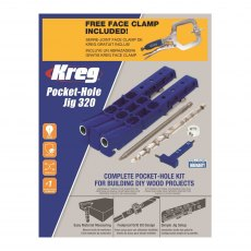 Kreg Pocket-Hole Jig 320 PK Deal with FREE Classic Face Clamp