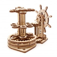 Ugears Model Wheel Organiser  Mechanical Wooden Model 3D Puzzle