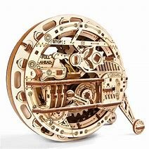 Ugears Model MonoWheel Mechanical Wooden Model 3D Puzzle