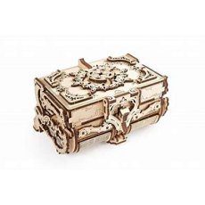 Ugears Antique Box  Mechanical Wooden Model 3D Puzzle