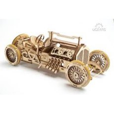 Ugears U-9 Grand Prix Car Model Wooden Model 3D Puzzle