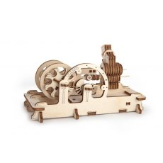 Ugears Pneumatic Engine  Mechanical Wooden Model 3D Puzzle