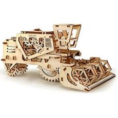 Ugears Combine Harvester Mechanical Wooden Model 3D Puzzle