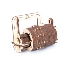 Ugears Combination Lock  Mechanical Wooden Model 3D Puzzle