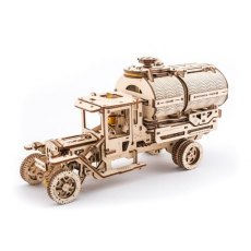 Ugears Tanker Mechanical Wooden Model 3D Puzzle