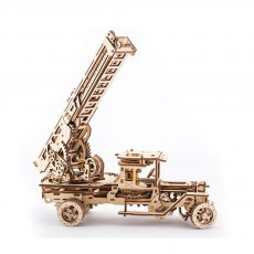 Ugears Fire Ladder  Mechanical Wooden Model 3D Puzzle