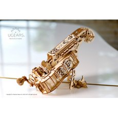 Ugears Hurdy-Gurdy  Mechanical Wooden Model 3D Puzzle