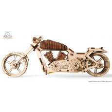 Ugears Bike VM-02  Mechanical Wooden Model 3D Puzzle