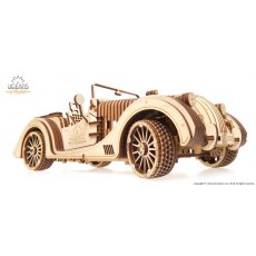 Ugears Roadster VM-01  Mechanical Wooden Model 3D Puzzle