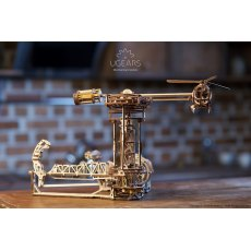 Ugears Aviator Mechanical Wooden Model 3D Puzzle