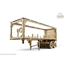 Ugears Trailer for Heavy Boy Truck VM-03 Mechanical Wooden Model 3D Puzzle
