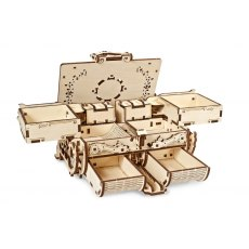 Ugears Amber Box Mechanical Wooden Model 3D Puzzle