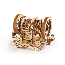 Ugears Stem Lab Differential  Mechanical Wooden Model 3D Puzzle