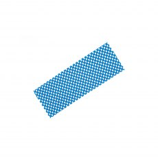 "Blue tenura fabric non slip mat for holding in place your diamond whetstones. 8"" X 3"" (200mm x 75mm"