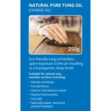 essentials Natural Pure Tung Oil (Chinese Oil) Toy Safe & Environmentally Eco-Friendly