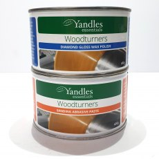 essentials Woodturners Diamond Twin Pack - Wax Polish & Abrasive Paste Package Deal!