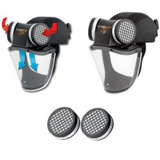 JSP Powercap Active IP Powered Respirator Impact Protection Package Deal!