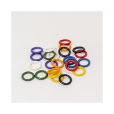 RazerTip Coloured ID Ring Set for Pyrography Pens Set x24