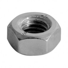 Hex Nut DIN 934 - A2 SS M6 Pack of 10
